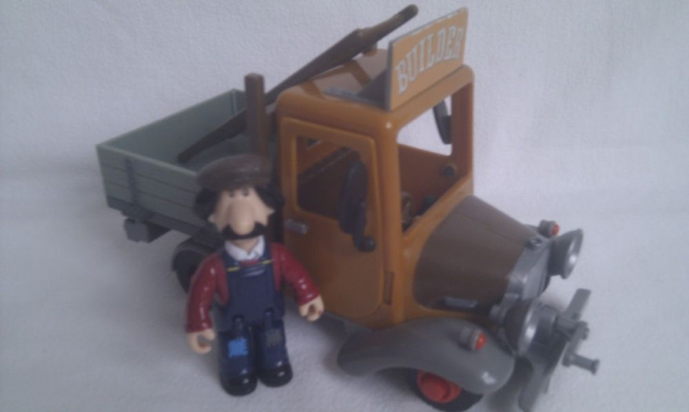 Adorable Postman Pat Greendale Ted Glen Builder Truck